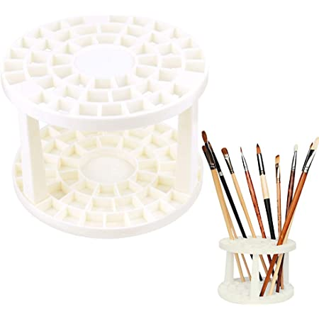 ohnmacht.design Pinselhalter Virage//Stifthalter f/ür 22 Pinsel oder Stifte mit max ca 8,5mm Durchmesser