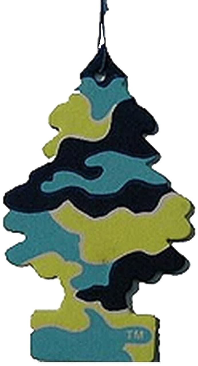 オーバーラン花瓶十二Little Trees 吊下げタイプ エアーフレッシュナー ピナコラーダ 4枚セット(4P)