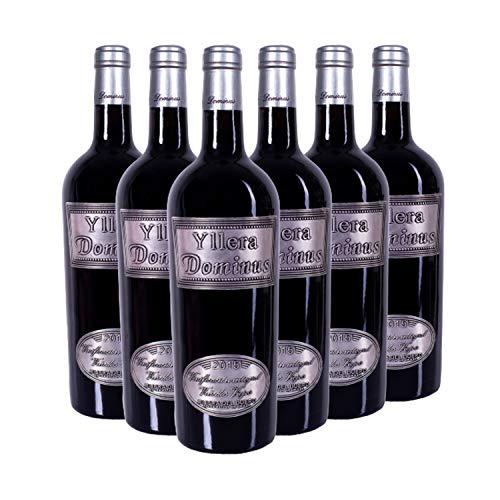 Yllera   Vino Tinto Crianza Dominus Yllera   Pack de 6 uds   Tempranillo   75 cl   D.O Ribera de Duero   Aroma de Fruta Madura   Elegante y Potente   Añada 2015   Vino Español