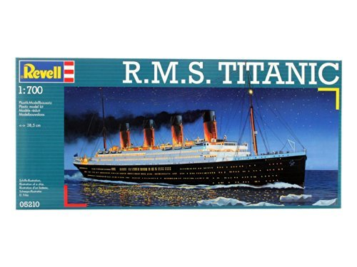 Revell de Alemania RMS Titanic Maqueta de Plástico en Kit, Modelo: 80-5210, Juguetes y Juegos