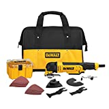 Product Image of the DEWALT Oscillating Tool Kit, Corded, 3-Amp, 29 Pieces (DWE315K)