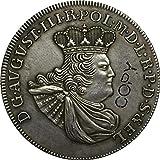 Chaenyu 1763 Monedas de Polonia Copiar Monedas de 33 mm Recuerdos de decoración