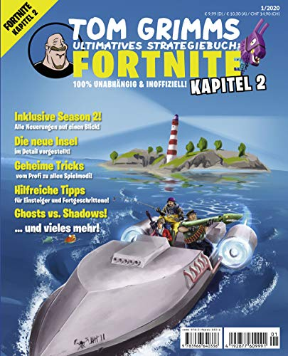 Tom Grimms ultimatives Strategiebuch: Fortnite Kapitel 2: 100 % unabhängig & inoffiziell