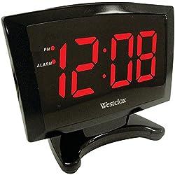 WESTCLOX 70028 1.8 Plasma LED Alarm Clock consumer electronics Electronics