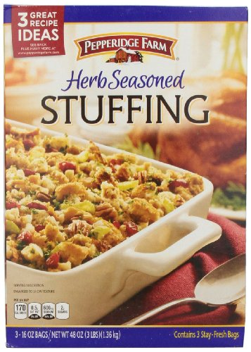 Pepperidge Farm Herb-Seasoned Stuffing, 16 Ounce Bags, 3 Count