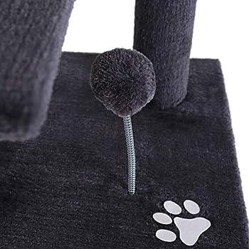 dibea Griffoir pour chats, 112 cm gris
