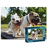 Puzzles Personalizados 1080 Piezas con Fotos | Varios tamaños Disponibles (4 a 2000 Piezas) | Material: Cartón | Tamaño: 1080 Piezas (69,5 x 49,5 cm) - con Caja Personalizada