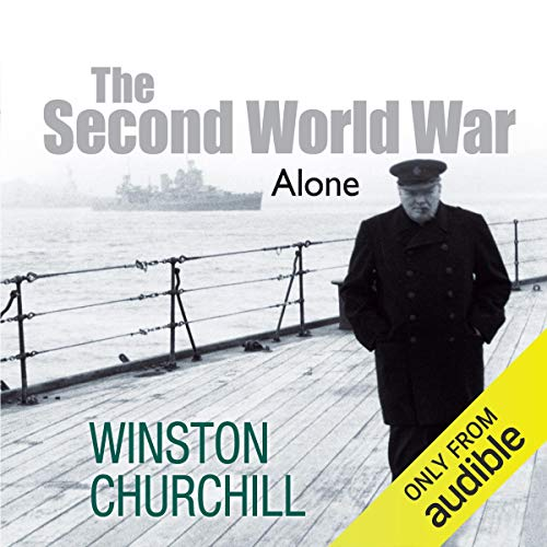 The Second World War: Alone  By  cover art