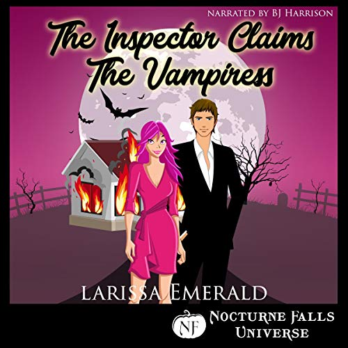 The Inspector Claims the Vampiress audiobook cover art