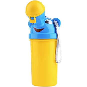 TRAVEL AID Portable Emergency Urinal Toilet Potty for Baby Child and Kids Car Travel and Camping and Toddler Pee Pee Training Cup for Boys