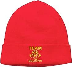Veta Megica Men's Winter Warm Beanie Hats Gennady-Golovkin-Poster Slouchy Beanie for Women