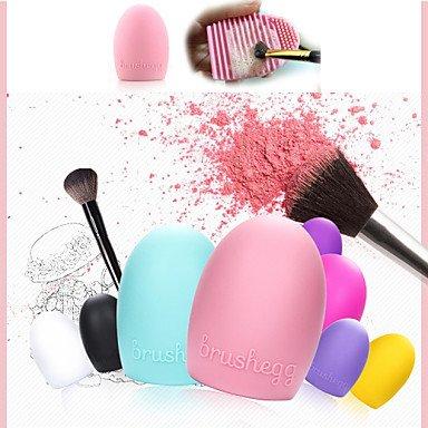 GAG-Faux-cils@1pcs nettoyage maquillage brosse de lavage gant de silice conseil d'épuration des outils propres cosmétiques