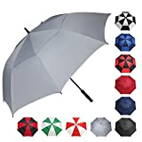 BAGAIL Golf Umbrella 68/62/58 Inch Large Oversize Double Canopy Vented Windproof Waterproof Automatic