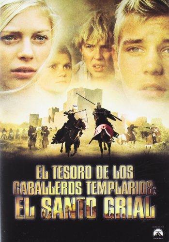 El tesoro de los caballeros Templarios II: El Santo Grial [DVD]
