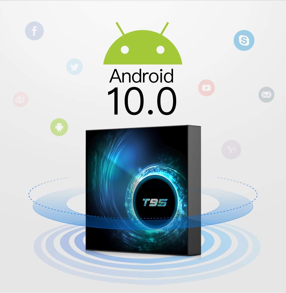 3GB + 32GB TV Box] estgosz Smart TV Box Android 7.1 Amlogic S912 Octa Core 64 bits 4 K Ultra HD Wifi 2.4 G/5G LAN 1000 M Bluetooth 4.1 3d: Amazon.es: Electrónica