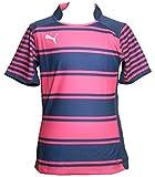 Puma Junior Créoles Permet de séparer Le Maillot de Rugby, Rose/Bleu Marine