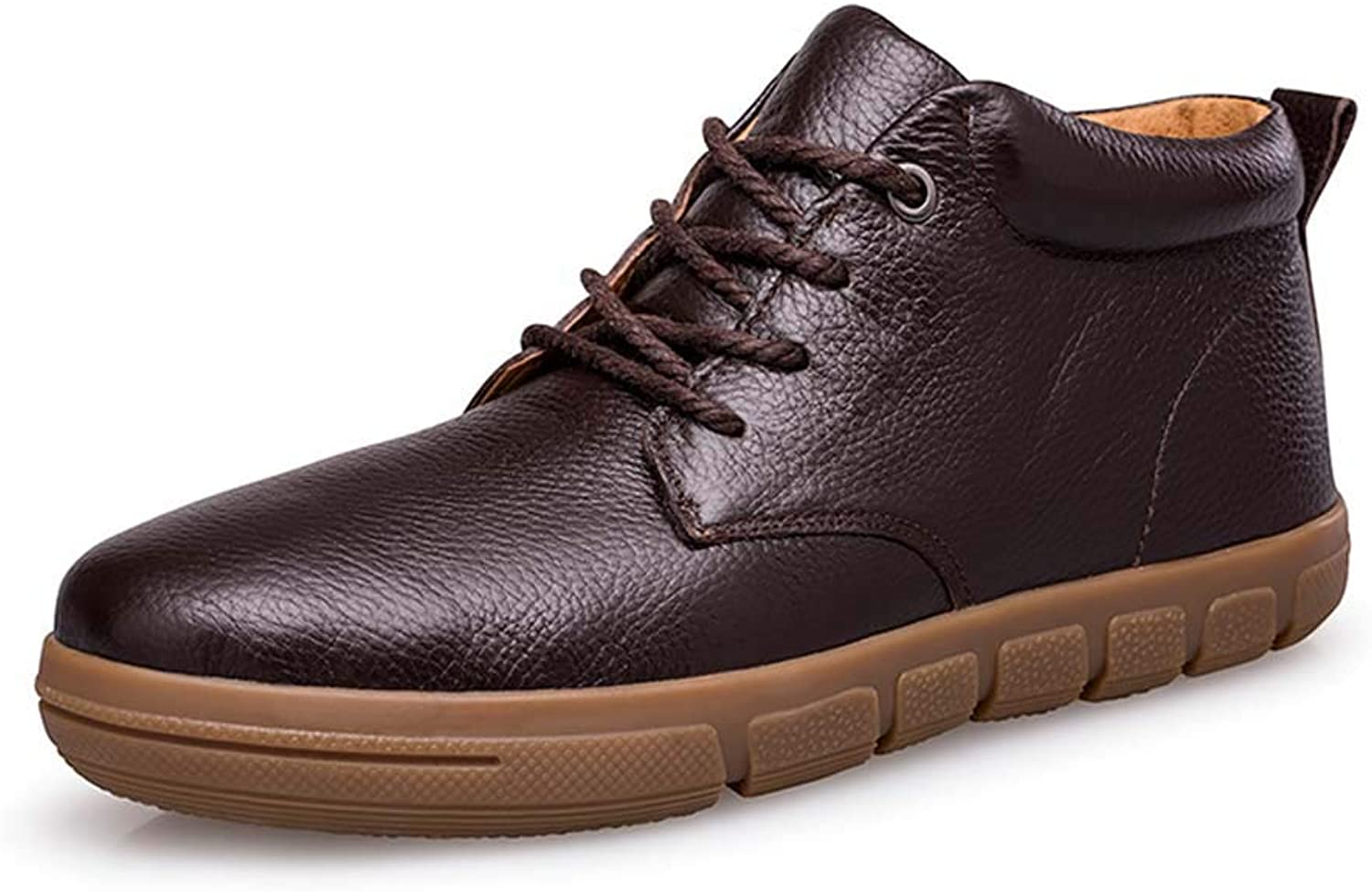 Men's Business Casual Work shoes Flat Soft and Comfortable Non-Slip