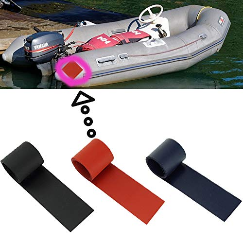 Homefantasy 3 STK Reparaturflicken, Wasserfeste, PVC, Poolflicken Reparatur Patches Multi Funktions FüR Kajak Fahren, Gummiboot, Schlauchboot, Aufblasbarer Pool, 5x100cm