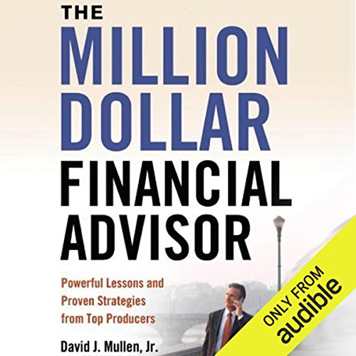 The Million-Dollar Financial Advisor audiobook cover art