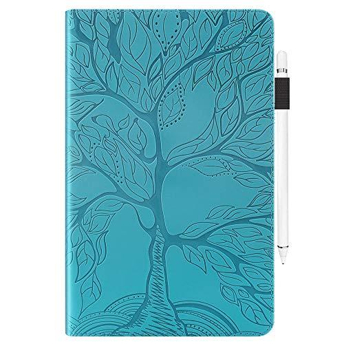 YYLKKB para SM-T580 Tab A6 10.1 Caso 2016 para Samsung Galaxy Tab A 10.1 T585 T587 Tablet Book Funda Tab A 10 1 Funda de Cuero PU-Azul_SM-T580 T585