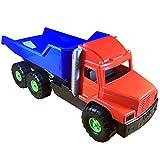 Tiktaktoo-Dohany – Camión Gigante, Aprox. 76 cm, Gran Ejes y volquete bloqueable, vehículo de Juguete Robusto para niños a Partir de 3 años, Color Big 5027