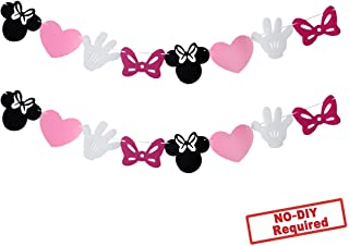 free printable minnie mouse birthday decorations