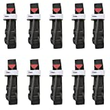 AsaTechmed 10 Pack Medical Tourniquet + Rip Away IFAK Bag Combat Outdoors Emergency Medical First Aid Equipment One-Handed Tourniquet (10 Pcs Without Bag)