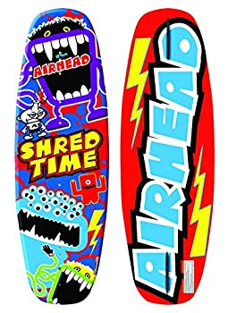 Airhead SHRED TIME WAKEBOARD Red Blue Yellow Green Purple  AHW-1030