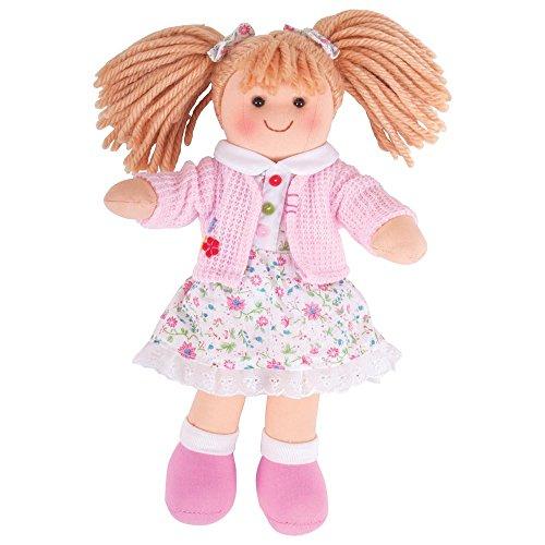 Bigjigs Toys Poupée 28cm Poppy | Jouet Enfant | Jeu Traditionnel Enfant | Nounours | Jouet Enfant | Cadeau Enfant | Jouet pour Fille