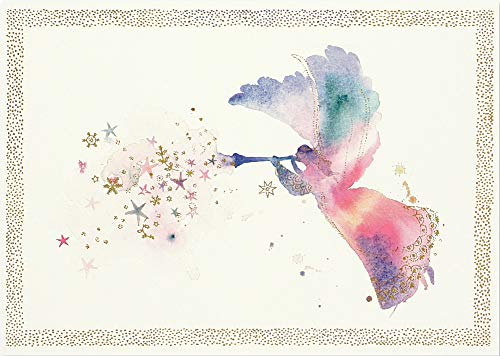 Watercolor Angel Deluxe Boxed Holiday Cards (Christmas Cards, Greeting Cards)