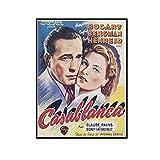 ADNHWAN Casablanca Humphrey Bogart Ingrid Bergman Claude