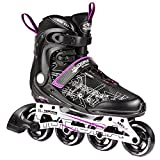HUDORA Inliner Inline-Skates RX-23 - Gr. 45, schwarz/lila - 29045