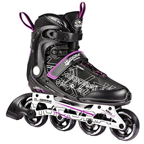 HUDORA Inliner Inline-Skates RX-23 - Gr. 44, schwarz/lila - 29044