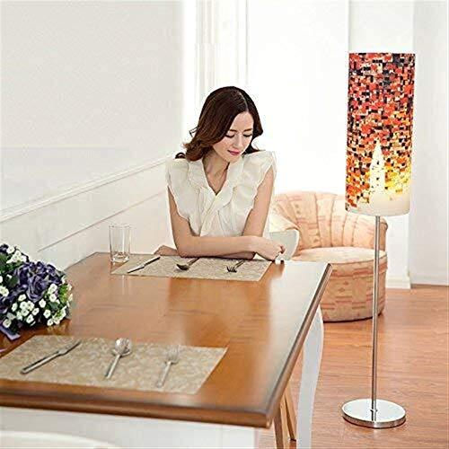 Busirsiz Lámparas de pie, Led personalidad moderna sala de estar dormitorio Cama de tela creativo Estudio lámpara de pie, Eye-El cuidado de luz vertical