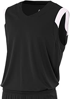 A4 Boy's Moisture Management V-Neck Muscle Shirt