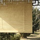 LNDDP Exterior con Ganchos, persianas Opacas Exteriores para Patio con pérgola en el Patio Trasero, fácil Arreglar, 70/90/110/130 cm Ancho
