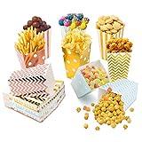 Scatole per Popcorn, 54Pcs Scatole di Popcorn Sacchetti...