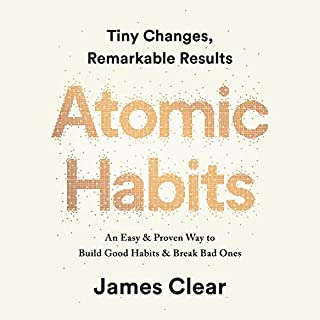 Atomic Habits     Tiny Changes, Remarkable Results              Autor:                                                                                                                                 James Clear                               Sprecher:                                                                                                                                 James Clear                      Spieldauer: 5 Std. und 35 Min.     717 Bewertungen     Gesamt 4,8