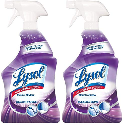 Lysol Mold & Mildew Foamer w. Bleach, Bathroom Cleaner...