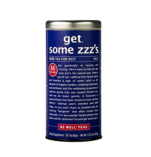 The Republic of Tea, Get Some Zzz's – No. 5 Rest Herb Tea, No Caffeine, 36 Tea Bags