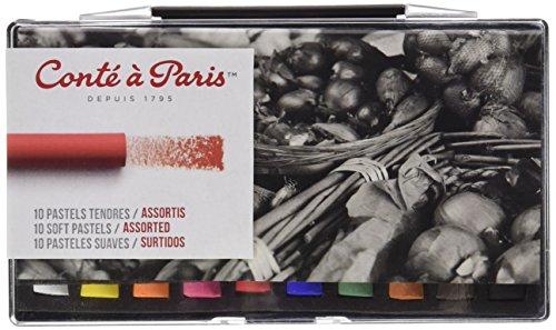 Contè À Paris - 10 Pastelli Teneri Assortiti