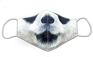 Animali divertenti che coprono il viso con stampa 3D Tiger, Cane, Gatto, Panda, Scimmia