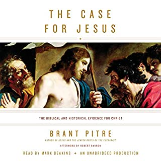 The Case for Jesus audiobook cover art