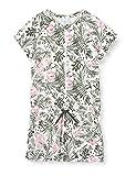 Sanetta Mädchen Overall kurz Einteiliger Schlafanzug, Grün (grün 4991), (Herstellergröße:164)