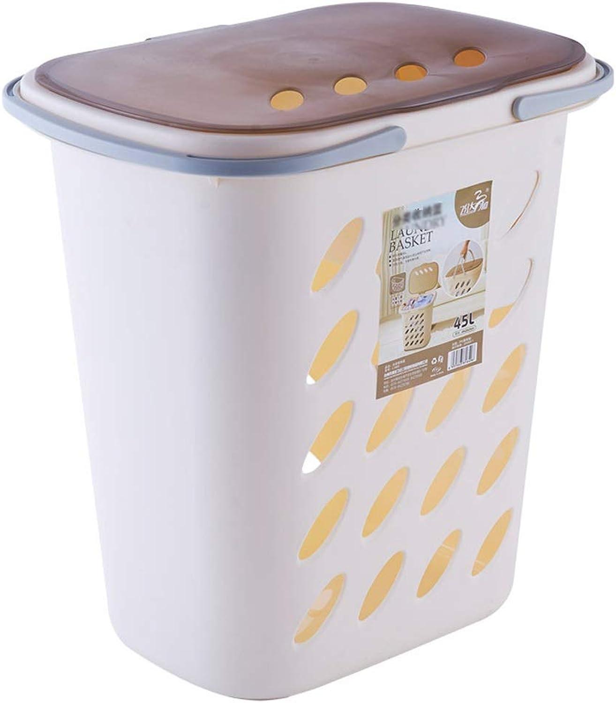 ZDNALS Plastic Hamper Combined Storage Basket Large Home Storage Basket -49×35×51CM Storage Basket
