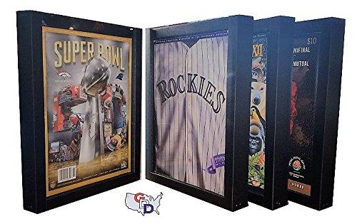 GameDay Display Lot of 4 Sports Program Display Frames
