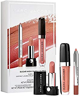 MARC JACOBS BEAUTY Cream and Sugar Nude Lip Trio Set: Lipstick, Lip Liner and Lip Gloss