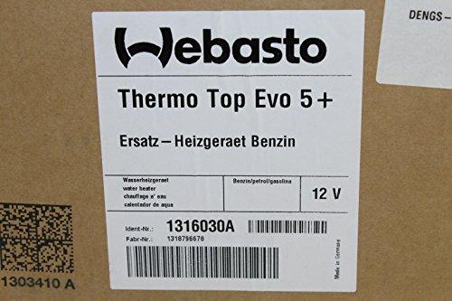 Unbekannt - Webasto calefactor auxiliar thermo top evo 5+ 1316030a gasolina 12v