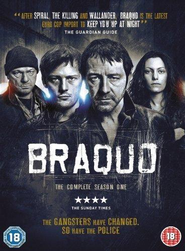 Braquo - Complete Season 1 - 2-DVD Set ( Braquo - Complete Season One ) [ Origine UK, Nessuna Lingua Italiana ]