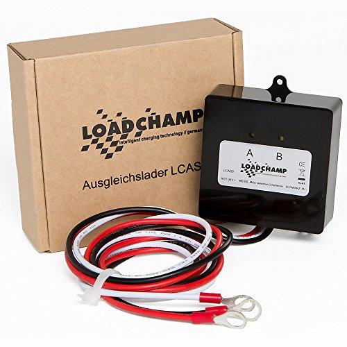 Loadchamp Batterie Ladungsausgleicher Ausgleichslader Balancer 24V 36V 48V Solar Akku